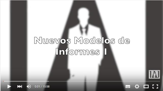 Video Nuevos Modelos Informes
